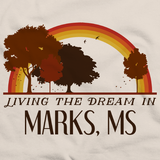 Living the Dream in Marks, MS | Retro Unisex