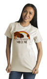 Standard Natural Living the Dream in Milo, ME | Retro Unisex  T-shirt