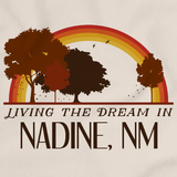 Living the Dream in Nadine, NM | Retro Unisex