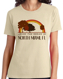 Ladies Natural Living the Dream in North Miami, FL | Retro Unisex  T-shirt