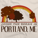 Living the Dream in Portland, ME | Retro Unisex