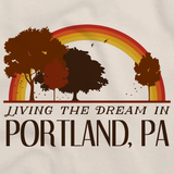 Living the Dream in Portland, PA | Retro Unisex