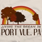 Living the Dream in Port Vue, PA | Retro Unisex