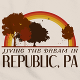 Living the Dream in Republic, PA | Retro Unisex