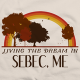 Living the Dream in Sebec, ME | Retro Unisex