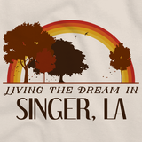 Living the Dream in Singer, LA | Retro Unisex