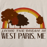 Living the Dream in West Paris, ME | Retro Unisex