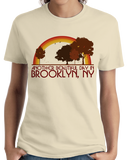 "Ladies Natural ""Another Beautiful Day In Brooklyn, New York"" T-shirt"