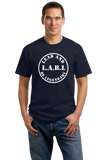 Unisex Navy Nametag Dark T-shirt