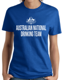Ladies Royal Australian National Drinking Team - Aussie Pride Foster's Beer T-shirt