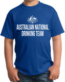 Youth Royal Australian National Drinking Team - Aussie Pride Foster's Beer T-shirt