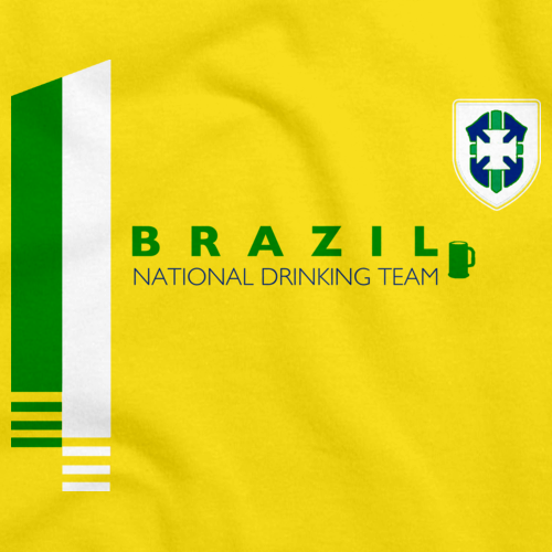 Brazil National Drinking Team Yellow art preview