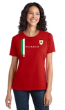 Ladies Red Bulgaria National Drinking Team - Bulgarian Soccer Football T-shirt