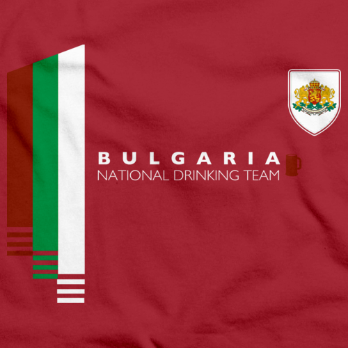 Bulgaria National Drinking Team Red art preview