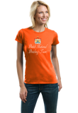 Ladies Orange Dutch National Drinking Team - Netherlands Soccer Football Funny T-shirt