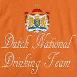DUTCH NATIONAL DRINKING TEAM Orange art preview