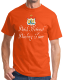 Standard Orange Dutch National Drinking Team - Netherlands Soccer Football Funny T-shirt