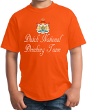 Youth Orange Dutch National Drinking Team - Netherlands Soccer Football Funny T-shirt
