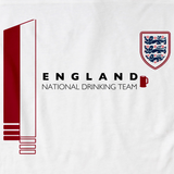 England National Drinking Team White art preview