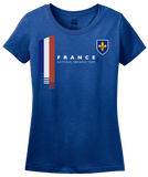 Ladies Royal France National Drinking Team - French Football Soccer Funny T-shirt