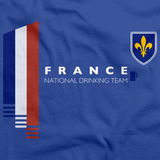 France National Drinking Team Royal Blue art preview