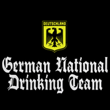 GERMAN NATIONAL DRINKING TEAM Black art preview