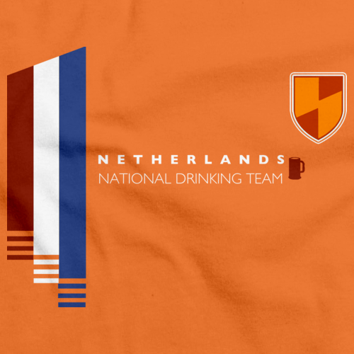 Netherlands National Drinking Team Orange art preview