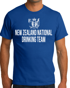 Standard Royal New Zealand National Drinking Team - Kiwi Pride Football Soccer T-shirt