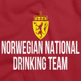 NORWEGIAN NATIONAL DRINKING TEAM Red art preview