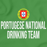 PORTUGESE NATIONAL DRINKING TEAM Green art preview