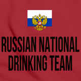 RUSSIAN NATIONAL DRINKING TEAM Red art preview