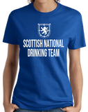 Ladies Royal Scottish National Drinking Team - Scotland Football Soccer Pub T-shirt