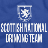 SCOTTISH NATIONAL DRINKING TEAM Royal Blue art preview