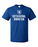 Standard Royal Scottish National Drinking Team - Scotland Football Soccer Pub T-shirt