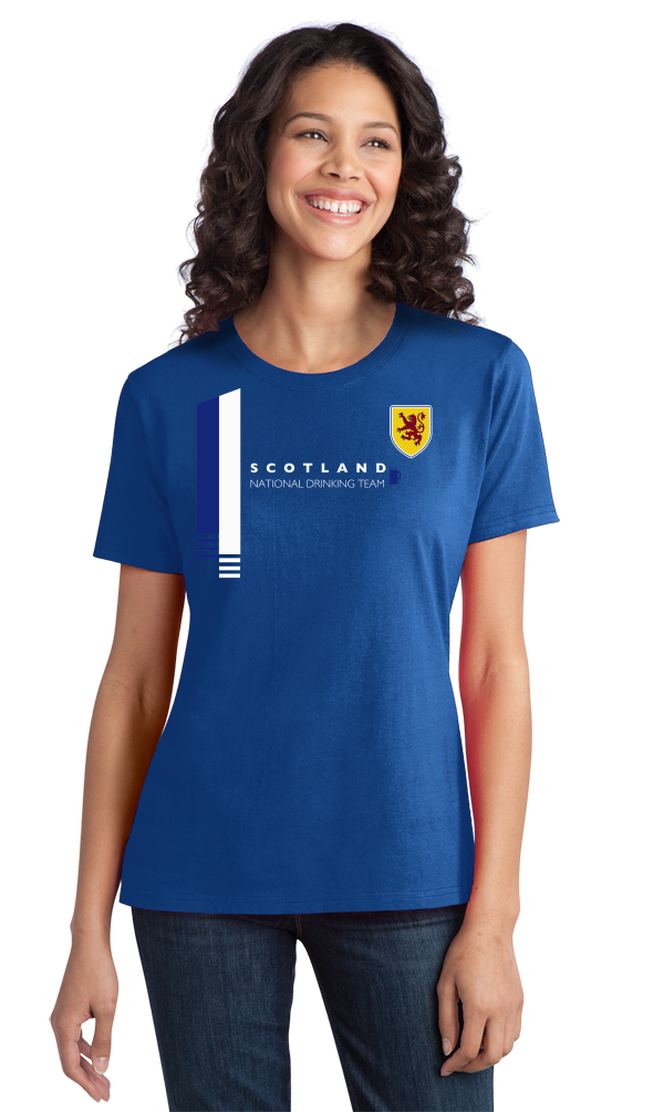 Ladies Royal Scotland National Drinking Team - Scottish Football Soccer Pub T-shirt