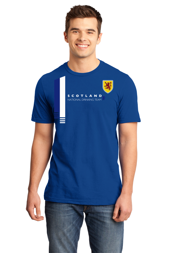 Standard Royal Scotland National Drinking Team - Scottish Football Soccer Pub T-shirt