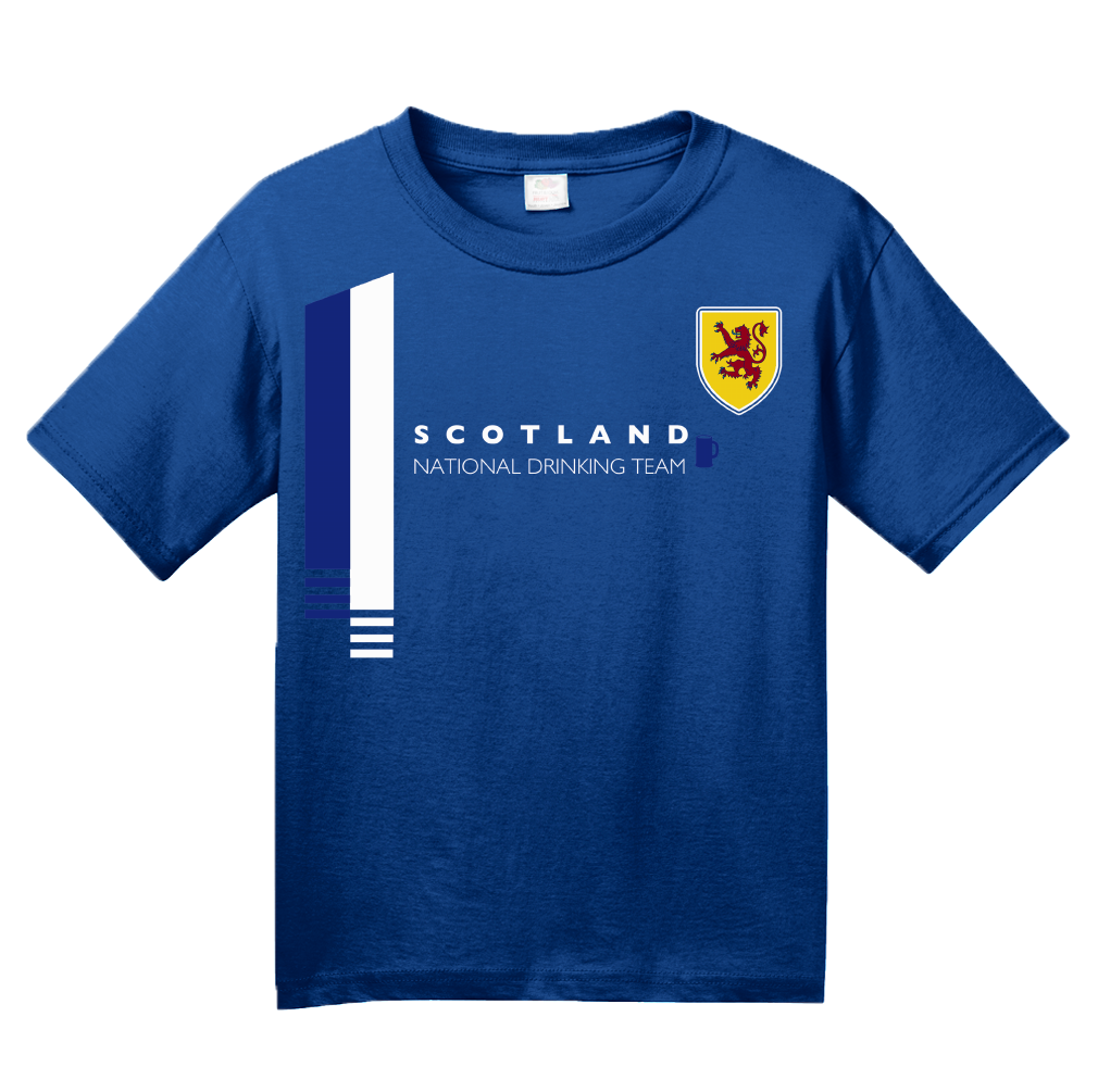 Youth Royal Scotland National Drinking Team - Scottish Football Soccer Pub T-shirt
