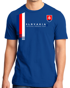 Standard Royal Slovakia National Drinking Team - Slovakian Soccer Football Fan T-shirt