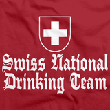 SWISS NATIONAL DRINKING TEAM Red art preview