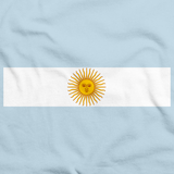 ARGENTINA NATIONAL FLAG Light blue art preview