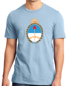 Standard Light Blue Argentina Coat of Arms - Argentine Pride Tango Heritage Love T-shirt