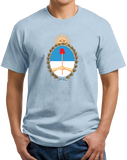 Unisex Light Blue Argentina Coat of Arms - Argentine Pride Tango Heritage Love T-shirt