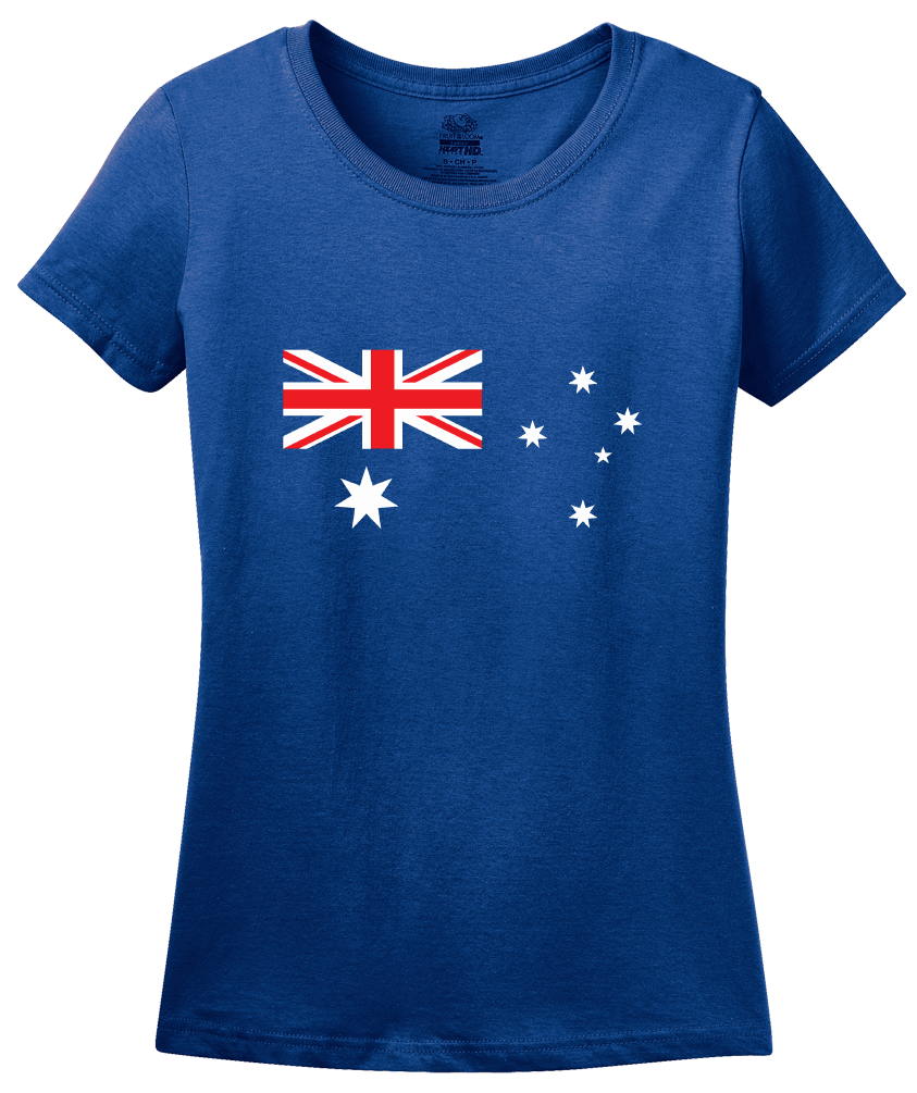 Ladies Royal Australian Flag T-shirt