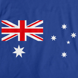 AUSTRALIAN FLAG Royal Blue art preview