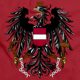 AUSTRIAN FLAG Red art preview