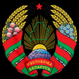 BELARUS NATIONAL EMBLEM Black art preview