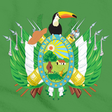 SANTA CRUZ, BOLIVIA DEPARTMENT COAT OF ARMS Green art preview