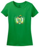 Ladies Green Santa Cruz, Bolivia Department Coat Of Arms - Bolivian Pride T-shirt