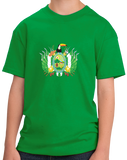 Youth Green Santa Cruz, Bolivia Department Coat Of Arms - Bolivian Pride T-shirt