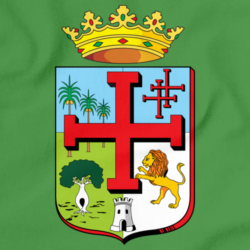 SANTA CRUZ DE LA SIERRA COAT OF ARMS Green art preview